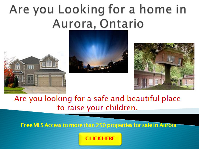 Aurora Best Homes For Sale Free List Canadian Real Estate Realtors Ads