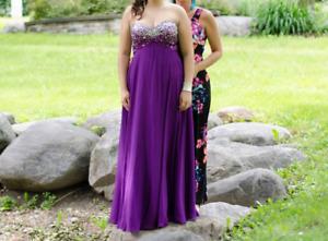 robe de bal, taille 14