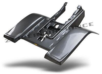 NEW YAMAHA BANSHEE YFZ 350 PLASTIC BLACK CARBON FIBER STANDARD REAR FENDER
