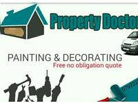 Painting and decorating - The property doctors