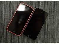 Two Faulty Iphones 5s and 5c
