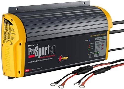 ProMariner ProSport 20 Gen 3 Heavy Duty On-Board Marine Battery Charger - 20 Amp