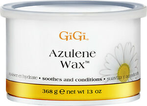 Brand new Gigi Azulene Oil wax, Hair removal soft, smooth skin, 13oz package