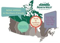 Supervisors - Relocate to Northern Canada