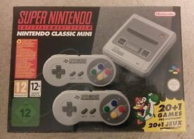 Super Nintendo Classic Mini - Brand New