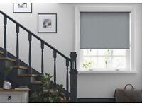 Roller Blind | Extra Large W255cm x H210cm | Grey | Blackout
