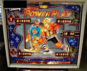Pinball power play
