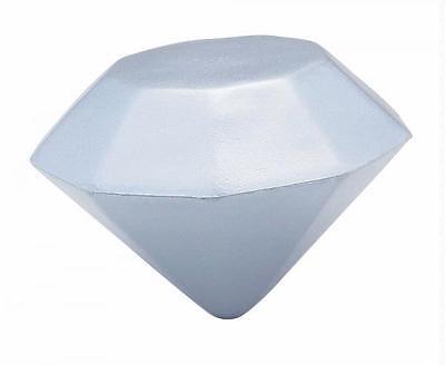 ***DIAMOND***STRESS BALL*** reliever gemstone gem stone wedding engagement  BIG
