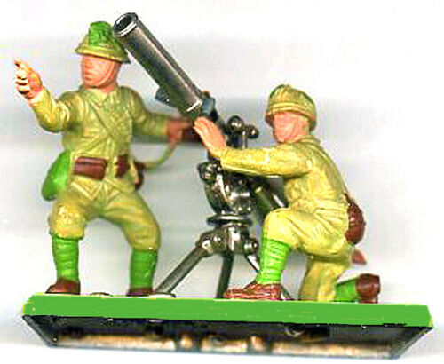 Britains Deetail WWII Japanese Recoilless Rifle - 1st Vers - Excellent condition