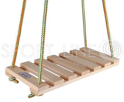 Schaukelsitz Holz Schaukel Für Kinder Schaukelbrett Kunststoff Kinderschaukel
