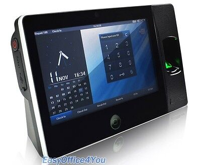 7 Inch Touch Screen Biometric Fingerprint Time Attendance Device Biopad100wifi