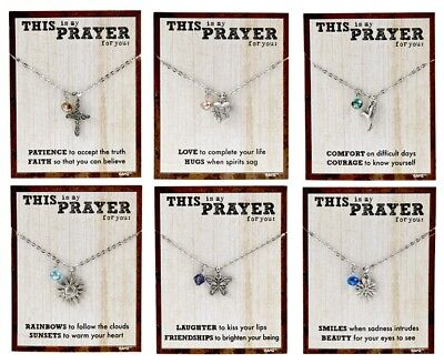 My Prayer For You Necklace YOU CHOOSE Six Styles NEW Inspirational (Style For You)