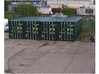 Containers to rent.
