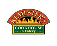 Kempster's Cookhouse is hiring Hostesses & Dining Room Support