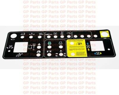 Genie 147603gt Decal Platform Control Panel S60 S65 S60x S60xc S60trax