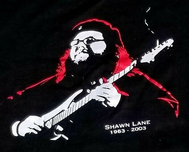 Rare Vintage :: Shawn Lane :: Time is the Enemy :: T Shirt : Large : 1963 - 2003