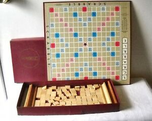 2 Scrabble games MODERN ENGLISH + one 1953 VINTAGE! Windsor Region Ontario image 1