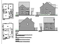 **LAND FOR SALE** WITH outline Planning Permission for 3 bed detached house. £75k
