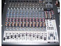 BEHRINGER XENYX 2442 FX LIVE & RECORDING MIXER
