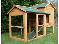New LARGE Rabbit Hutch | Guinea Pig Hutch | Rabbit Hutch For Sale