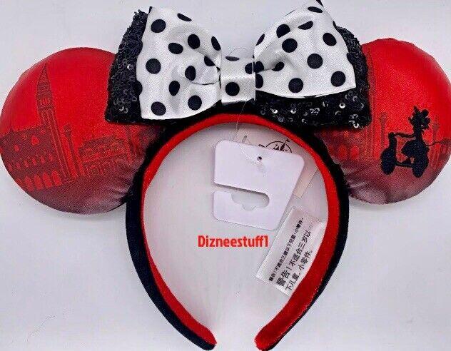 Disney Parks Ciao Bella Italy Epcot Showcase Minnie Mouse Ears Headband 2021