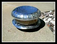 CHIMNEY TOP HAT STAINLESS COVER PERFECT CONDITION!!!!