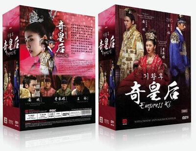 Empress Ki (PK version)Korean Drama DVD with Good English Subtitle