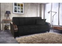 Made in turkey fabric brand new Turkish sofa bed with storage same Day delivery all over London