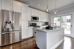 Solid Maple Cabinets 50% OFF^Granite/Quartz Countertop From $45