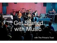 Get Started with Music course (FREE) - Gain skills & qualifications in a professional music studio!!