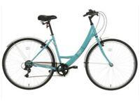 "Apollo Cafe Ladies' Hybrid Bike, V-brakes, 6 gears, 16"" frame"