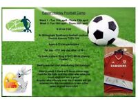 easter football camp in billingham