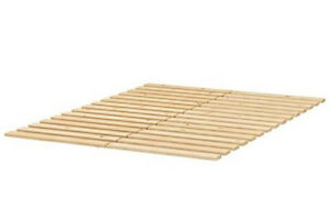 Ikea Sultan Lade Slatted Bed Base - Queen