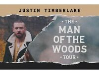 Justin Timberlake Man of The Woods - Standing Tickets Manchester