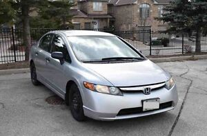 2008 Honda Civic DX-A Sedan E-Tested & Safety Certified