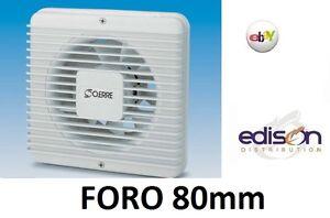 Aspiratore elicoidale estrattore vortice da muro foro 80mm per bagni cucine ebay - Estrattore bagno vortice ...