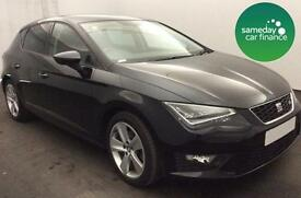 £236.91 BLACK 20014 SEAT LEON 1.4 TSI FR TECH 5 DOOR PETROL MANUAL