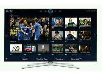 "Samsung 55"" LED smart 3D wi-fi tv builtin HD freeview fullhd 1080p"