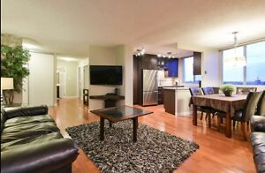 Modern 2 Bedroom Condo FOR RENT on JASPER AVE Edmonton Edmonton Area image 1