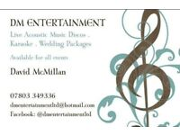 Mobile DJ/Wedding Packages/Acoustic Guitarist/Singer/Karaoke/Special Occasions/Corporate Events