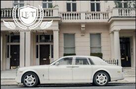 Self drive hire +chauffeur available for wedding car events Rolls-Royce Phantom/ Limousine/ S class