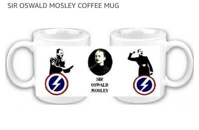 Sir Oswald Mosley British Union Of Fascists Coffee Mug