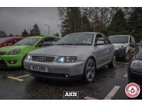 Audi A3 sport Quattro modified
