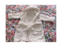 C brand new baby dressing gown 12-18 months brand new