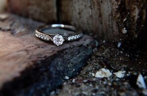 Beautiful Canadian Diamond Engagement Ring