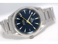 Omega Seamaster Aqua Terra Spectre Limited Edition Watch