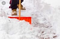 Snow shovelling available