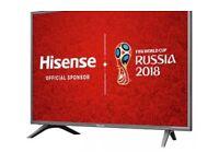 "Hisense 43"" 4K Ultra HD Smart TV"