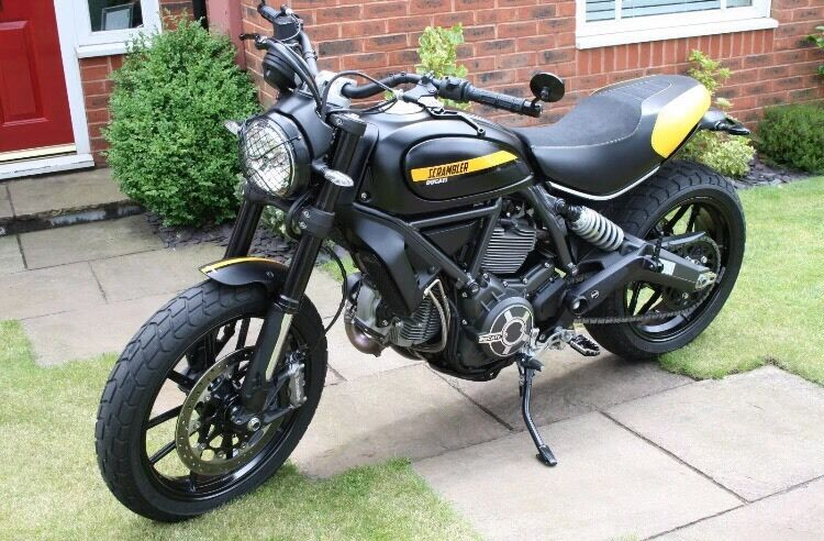 ducati scrambler full throttle 2015 only 500 miles in cheadle hulme manchester gumtree. Black Bedroom Furniture Sets. Home Design Ideas