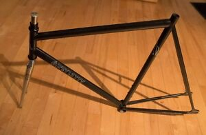 Fixed gear fixie frame Affinity Lo pro Size L. vélo bicycle